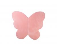 Legemåtte sommerfugl, baby pink