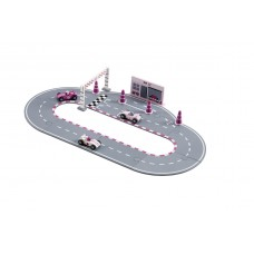 Racerbilsæt, pink
