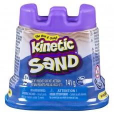 Kinetic sand, blå