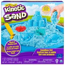 Kinetic sand sæt - blå