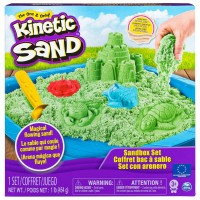 Kinetic sand sæt - grøn