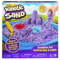Kinetic sand sæt - lilla