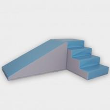 Noah XL med skridsikker bund, Rutschesæt pastel blå/grå