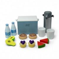 Køletaske, picnic sæt