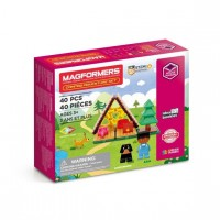 Magformers, camping eventyr