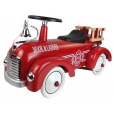 Gåbil, brandbil - rød