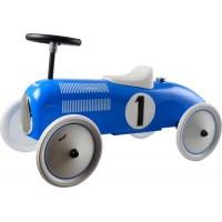 Gåbil, classic racer - blå