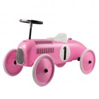 Gåbil, classic racer - pink