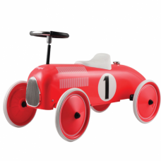 Gåbil, classic racer - rød