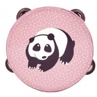 Tamburin med dyremotiv - Panda