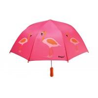 Paraply, flamingo