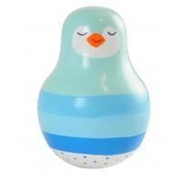 Pingvin tumling blå