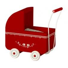 Barnevogn rød, micro