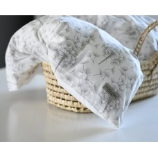 Baby sengetøj, hvid