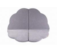 Cloud playmat 160x160 cm - light grey