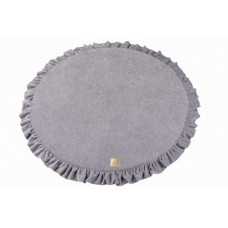 Round playmat 100 cm - light grey
