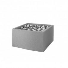 Boldbassin, firkantet (light grey)