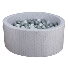 Boldbassin - light grey, geometry (90x40x5cm)