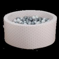 Boldbassin - pink, geometry (90x40x5cm)