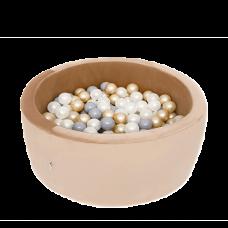 Boldbassin - gold, velvet (90x40x5cm)