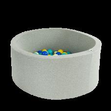 Boldbassin - light grey (90x40x5cm)