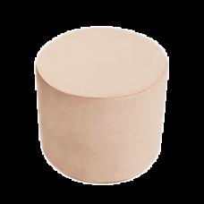 Puf rund - gold, velvet (40x30cm)
