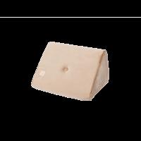 Støttepude single - gold, velvet (60x50x36cm)