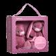 Gaveæske m. kanin & sutteklud, lyserød