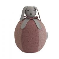 Bunny Bubble - Grey/Blush