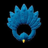 Bidering, påfugl - Blå