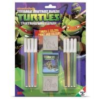 Ninja turtles stempelsæt inkl. tuscher