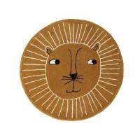 Løve tæppe
