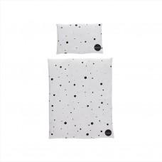 Dukkesengetøj - Dot, sort/hvid