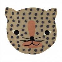 Leopard tæppe