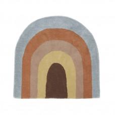 Regnbue tæppe