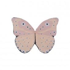 Sommerfugl kostume, rosa