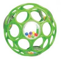 Oball rattle rund - grøn