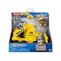 Rubble bulldozer