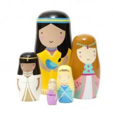 Prinsesse Babushka dukker