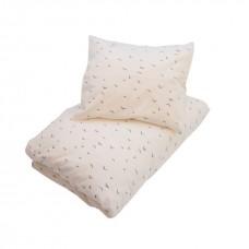 Baby sengetøj, creme