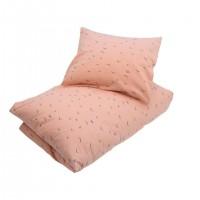 Junior sengetøj, rosa