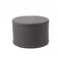 Skummøbel, cylinder - mørke grå