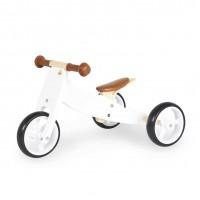 Trehjulet løbecykel, Charlie - Hvid
