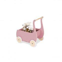 Dukkevogn, Mette - rosa