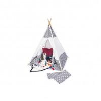 Tipi-telt med bund, Jakara
