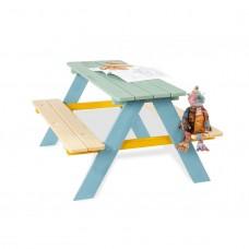 Børne havemøbel, Nicki - farverig