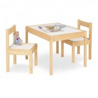 Børnebord og stolesæt, Olaf - lakeret