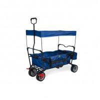 Trækvogn med bremse, Paxi - Blå