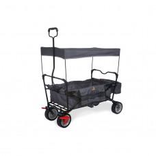 Trækvogn med bremse, Paxi - Antracit