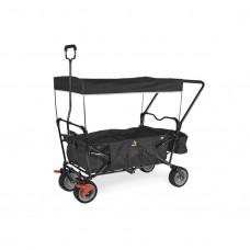 Trækvogn med bremse, Paxi - Sort